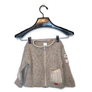 Zucchero Filati Wool Toddler Sweater Size 2T Boys